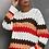 Thumbnail: Colorblock Wave Sweater