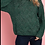 Thumbnail: Green Cable Knit Sweater