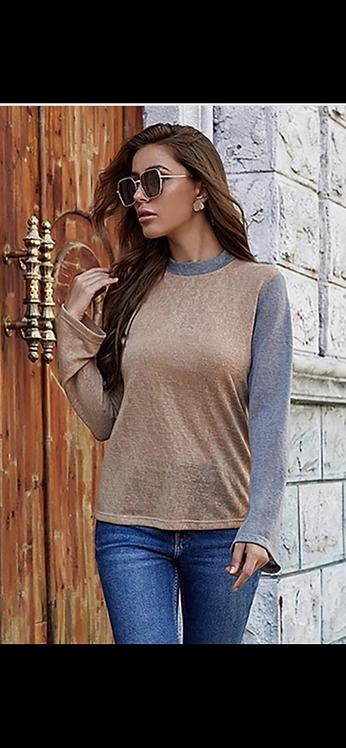 Lightweight Colorblock Sweater