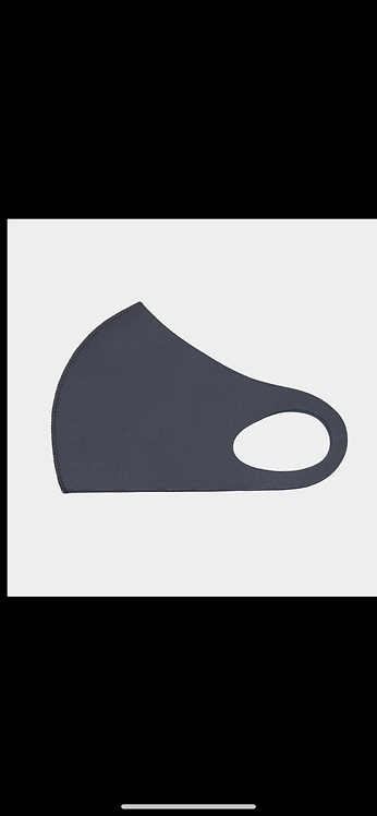 Solid Poly Mask - Dark Gray
