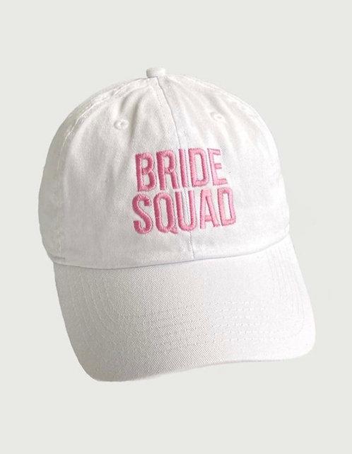 Bride Sqaud Baseball Hat - Pink