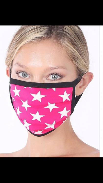 Star Mask - Pink