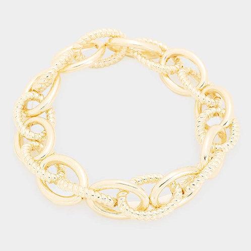 Chain Link Bracelet - Gold