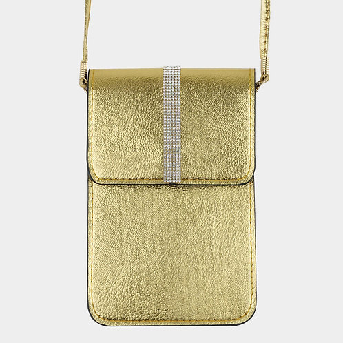 Cell Holder / Purse - Gold