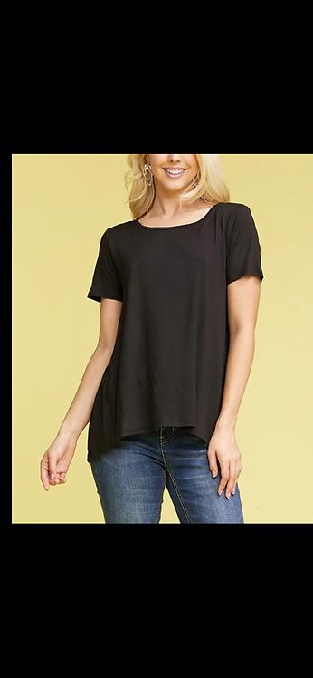 Solid Short Sleeve - Black