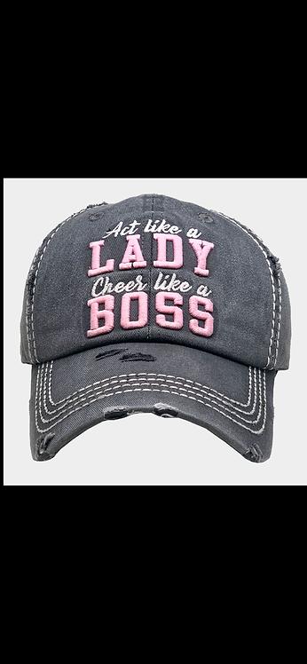 Lady / Boss Baseball Hat
