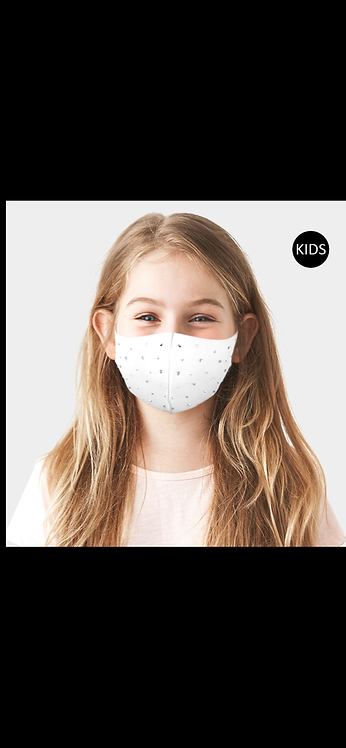 KIDS Bling Mask - White