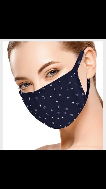 Navy Star Mask