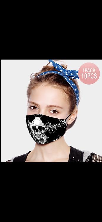 Skull Adjustable Mask