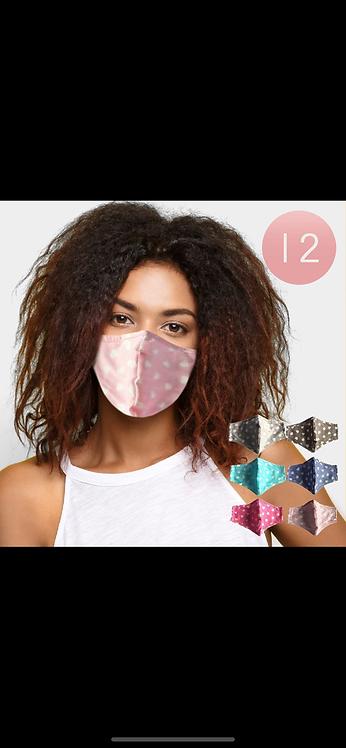 Heart Adjustable Masks - Assorted