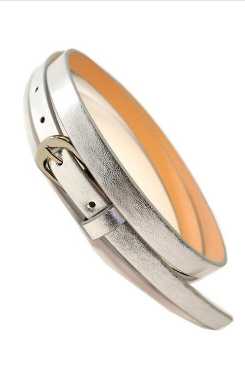 Thin Belt - Silver