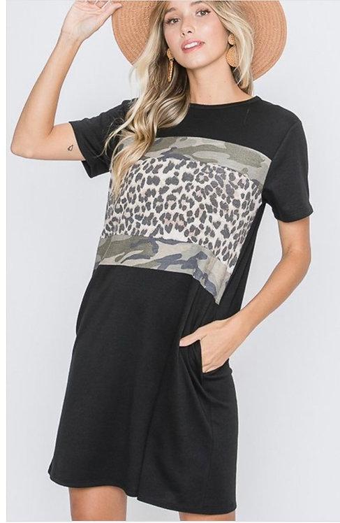 Camo Leopard Dress