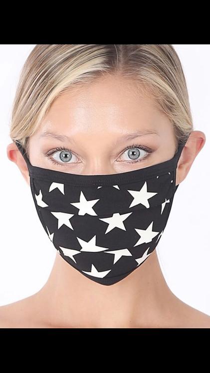 Star Mask - Black