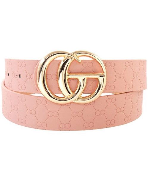 Textured GO Belt - Blush