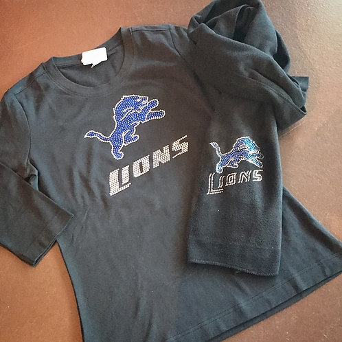 Detroit Lions Bling Shirt