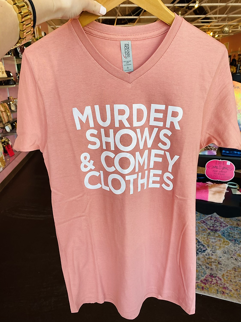 Murder Shows Graphic Tee