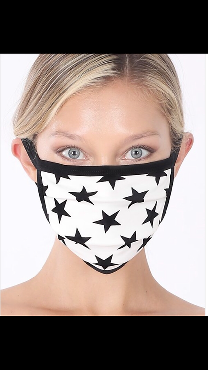 Star Mask - White