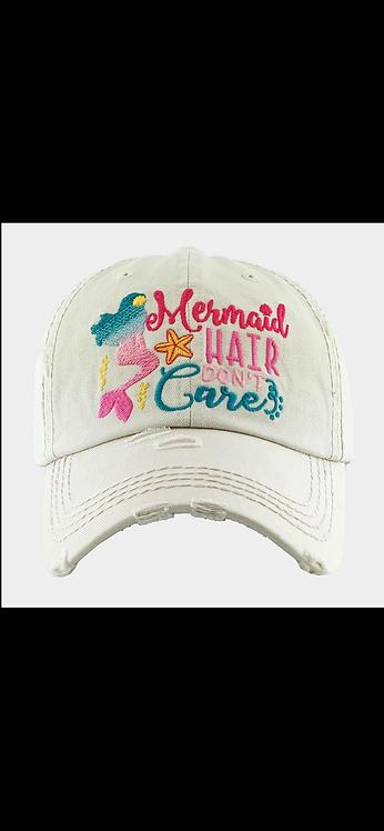 Mermaid Hair Dont Care Hat
