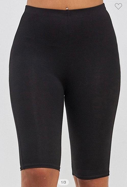Black Bicycle Shorts