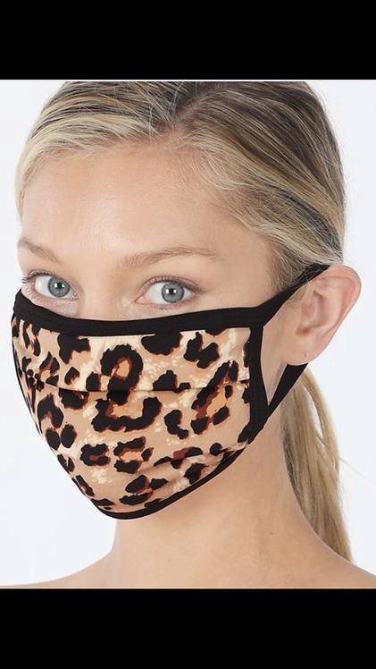 Leopard Mask - Brown