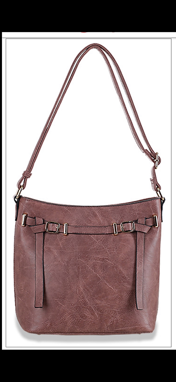 Mauve Belted Mid Size