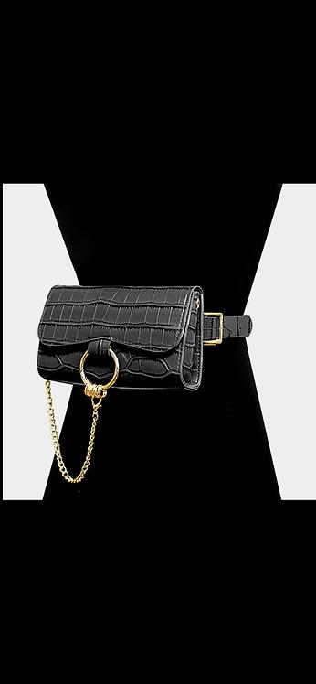 Convertible Belt Bag - Black
