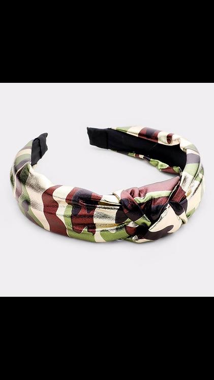 Camo Knot Headband