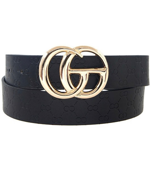 Textured GO Belt - Black