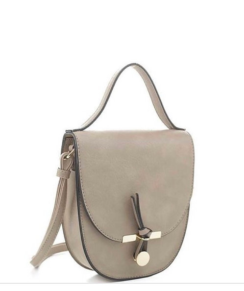 Curved Loop Messenger - Taupe