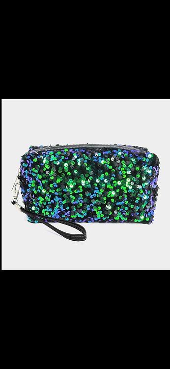 Sequin Makeup / Accessory Bag