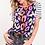 Thumbnail: Stripe Sleeve Multi Leopard Shirt