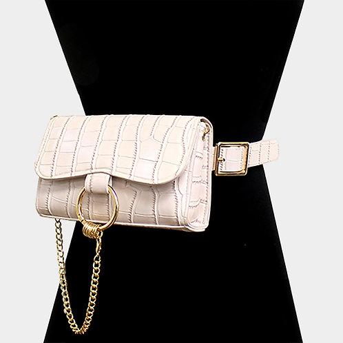 Convertible Belt Bag - Beige