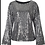 Thumbnail: Black Sequin Long Sleeve