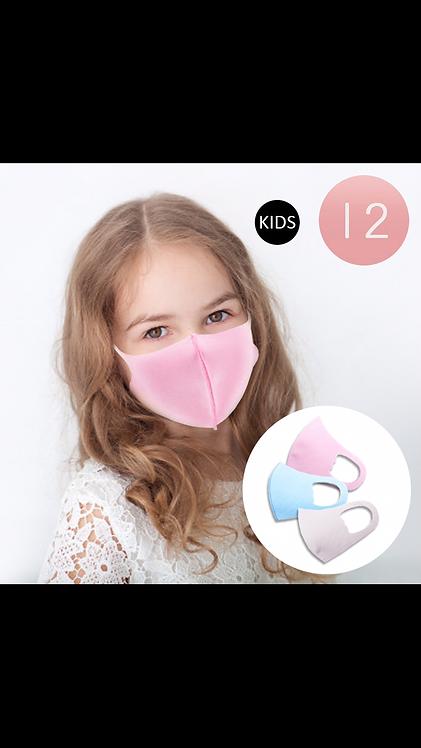 Kids Solid Face Mask