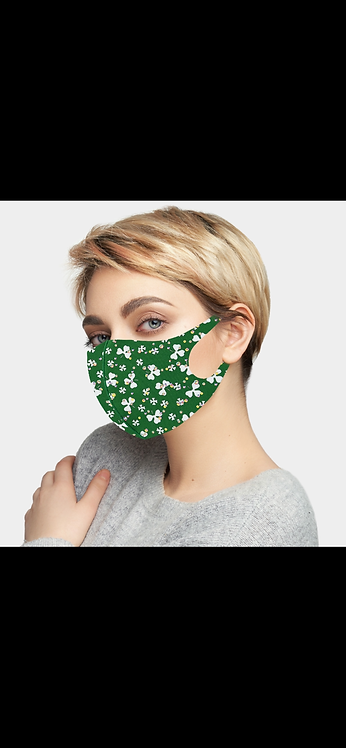 St Party's Bling Mask - Green