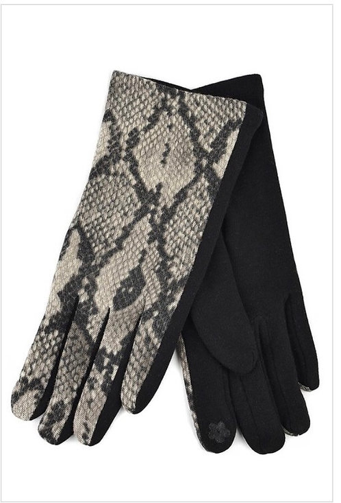 Snakeskin Gloves