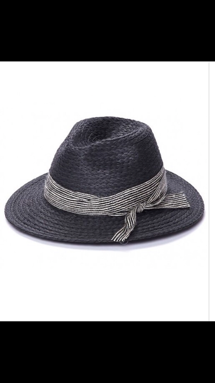 Panama Summer Hat - Black