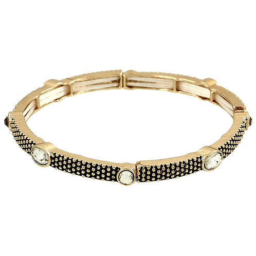 Thin Circle Bling Stackable - Gold