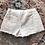 Thumbnail: Distressed Denim Shorts - White