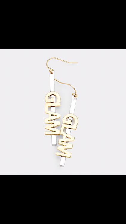 Glam Dangle - Gold
