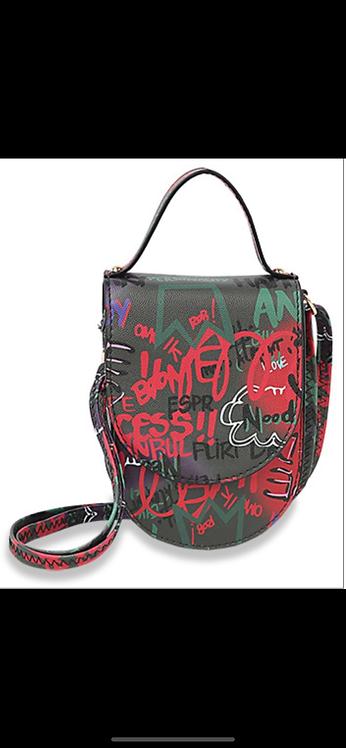Graffiti Cell Holder Messenger