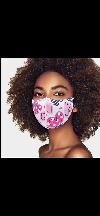 Heart Adjustable Mask