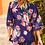 Thumbnail: Kimono Style Blouse - Navy