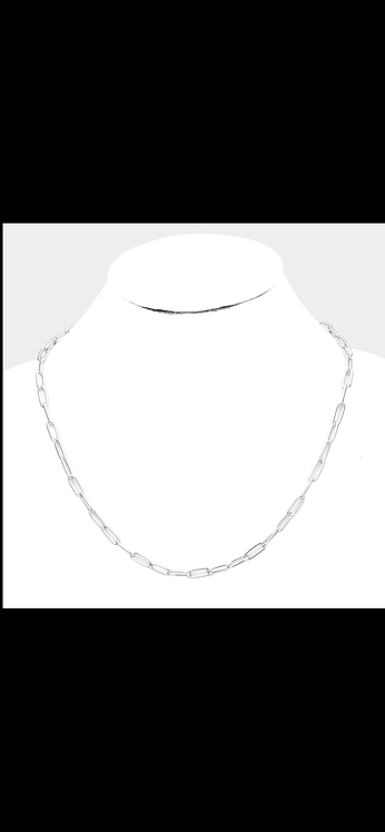 Metal Link Chain - Silver