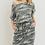 Thumbnail: Camo Drawstring Dress