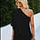 Thumbnail: One Shoulder Blouse - Black