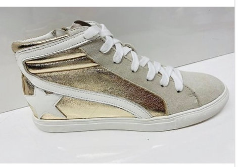 Gold Star Sneakers