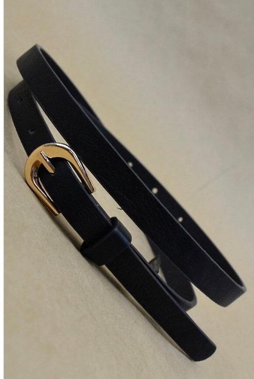 Thin Belt - Black