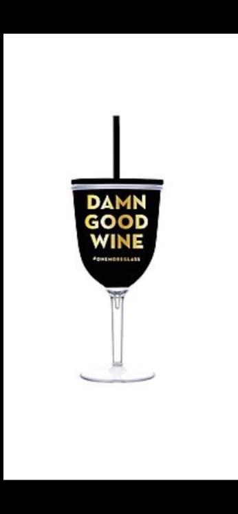 Damn Good Wine Tumbler