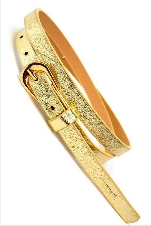 Thin Belt - Gold